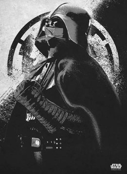 Star Wars Darth Vader - Rogue One Gray Morality - Displate