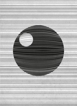 Star Wars Death Star - Star Wars Blueprints - Displate