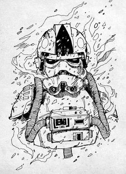 Star Wars Trooper Pilot - Star Wars Blueprints - Displate