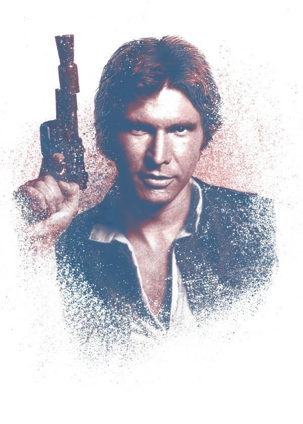 Star Wars Han Solo - Star Wars Guiding Force - Displate