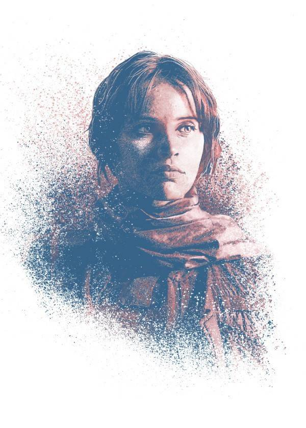 Star Wars Jyn - Star Wars Guiding Force - Displate