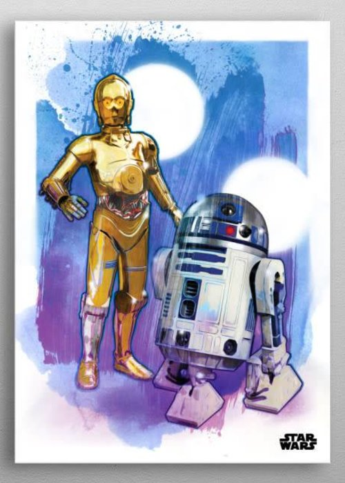 Star Wars Droids  |  Star Wars Iconic Paintings