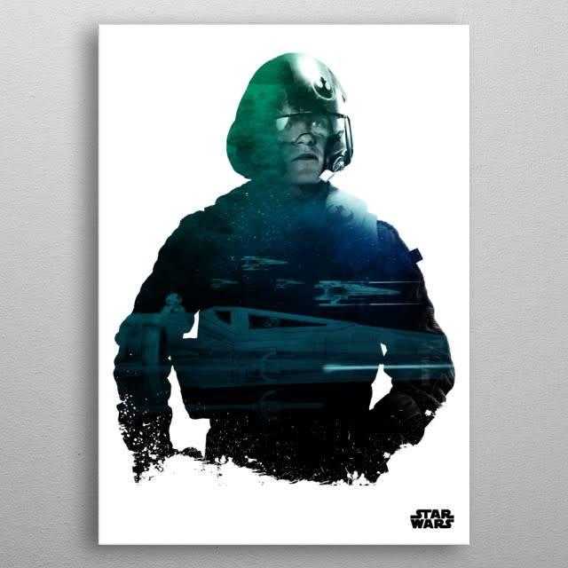 Star Wars Poe - Resistance vs First Order Displate