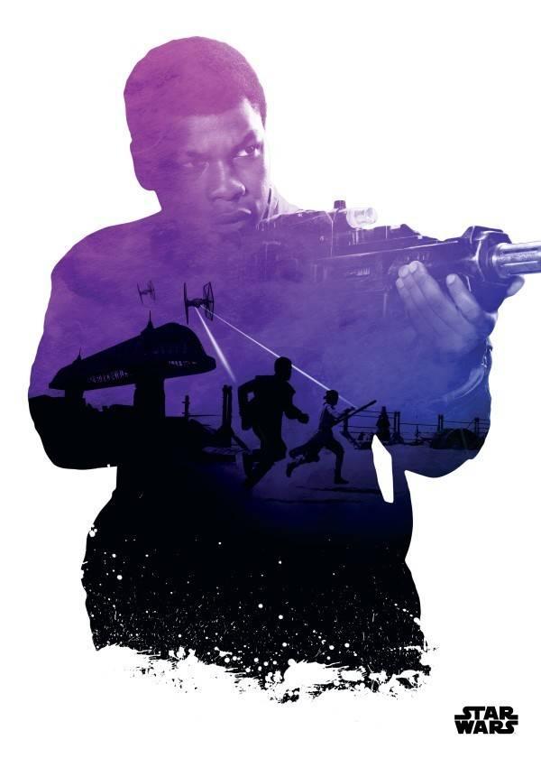 Star Wars Finn - Resistance vs First Order Displate