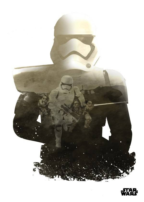 Star Wars Trooper - Resistance vs First Order Displate