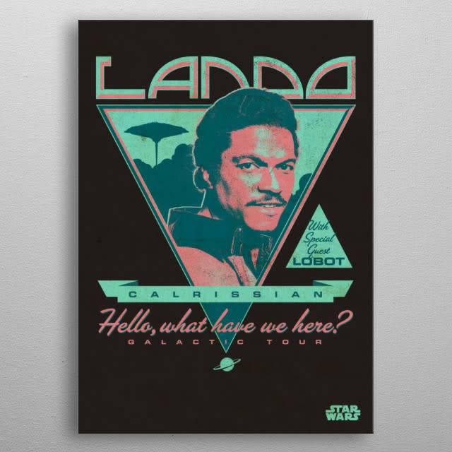 Star Wars Lando Calrissian - Star Wars Legends - Displate