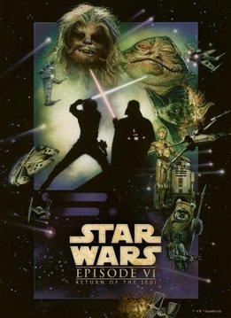 Star Wars Return of the Jedi - Star Wars Movie Posters - Displate