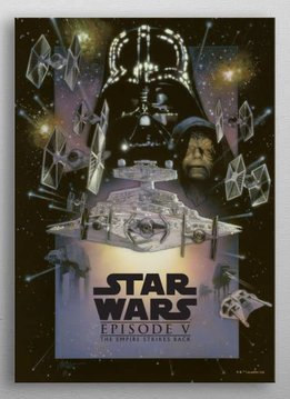Star Wars The Empire Strikes Back - Star Wars Movie Posters - Displate