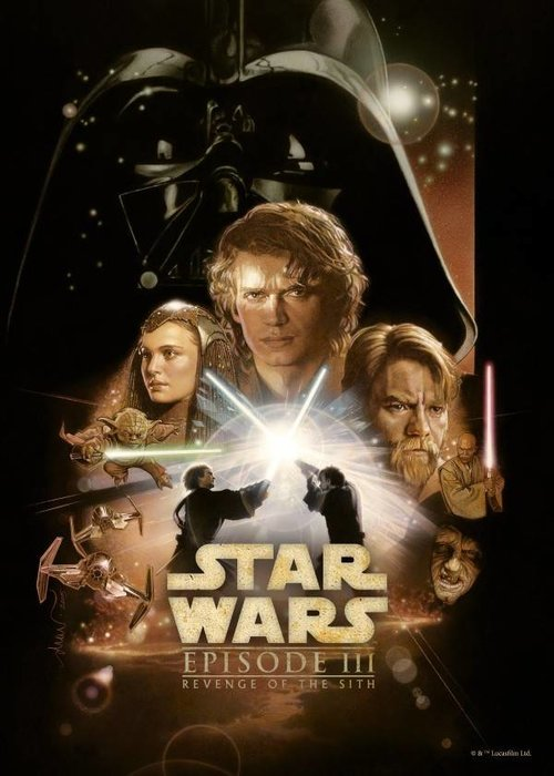 Star Wars Revenge of the Sith  | Star Wars Movie Posters