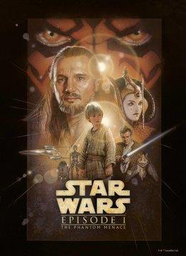 Star Wars The Phantom Menace - Star Wars Movie Posters - Displate