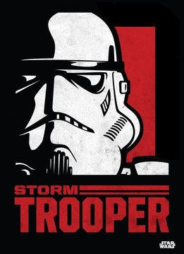 Star Wars Stormtrooper - Star Wars Icons Posters - Displate