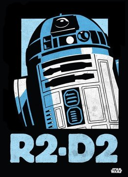 Star Wars R2-D2 | Star Wars Icons Posters | Displate