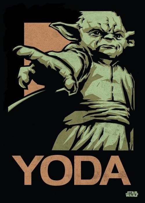 Star Wars Master Yoda  | Star Wars Icons Posters