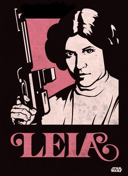 Star Wars Princess Leia - Star Wars Icons Posters - Displate