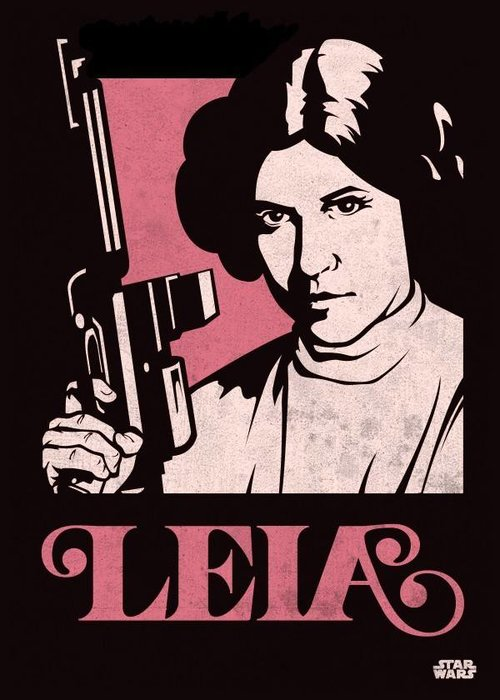 Star Wars Princess Leia  | Star Wars Icons Posters