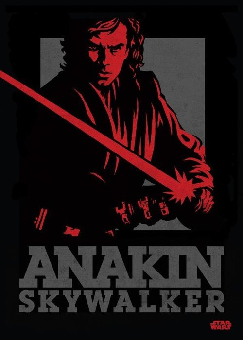 Star Wars Anakin | Star Wars Icons Posters