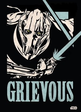 Star Wars General Grievous | Star Wars Icons Posters | Displate