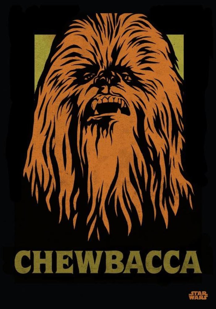 Chewbacca  | Star Wars Icons Posters