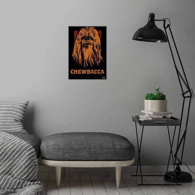 Star Wars Chewbacca - Star Wars Icons Posters - Displate