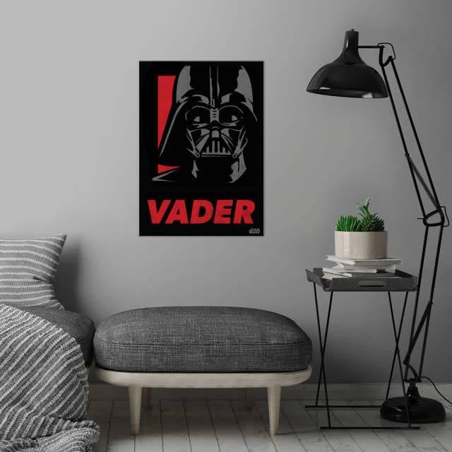 Star Wars Darth Vader - Star Wars Icons Posters - Displate