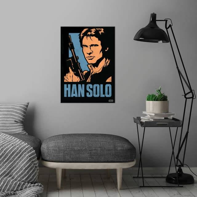 Star Wars Han Solo - Star Wars Icons Posters - Displate