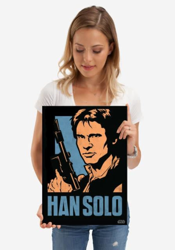 Han Solo     Star Wars Icons Posters