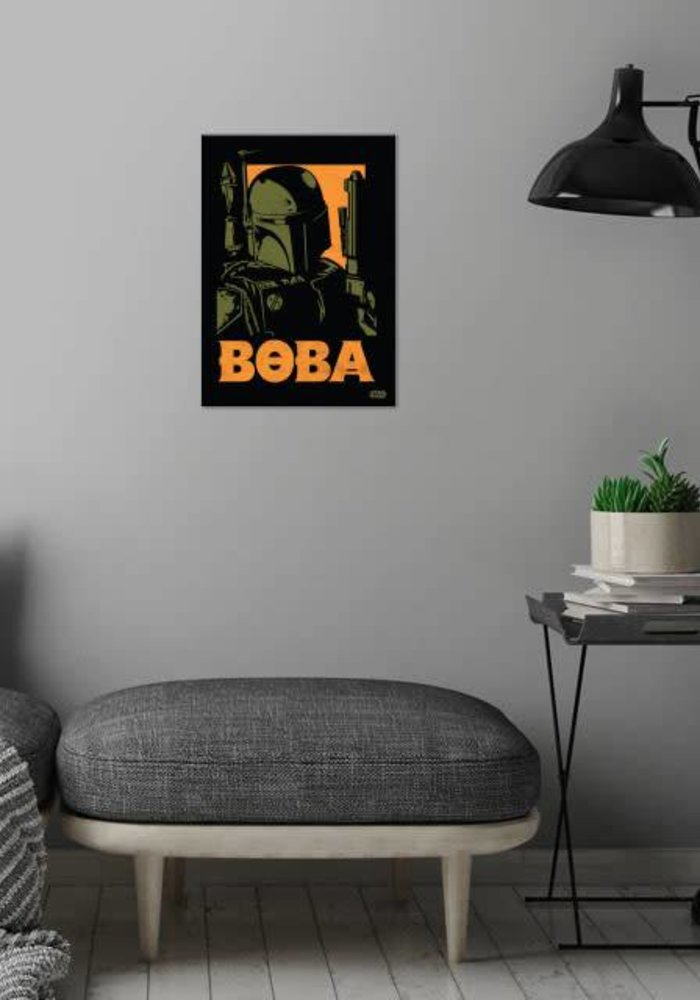 Boba Fett  | Star Wars Icons Posters