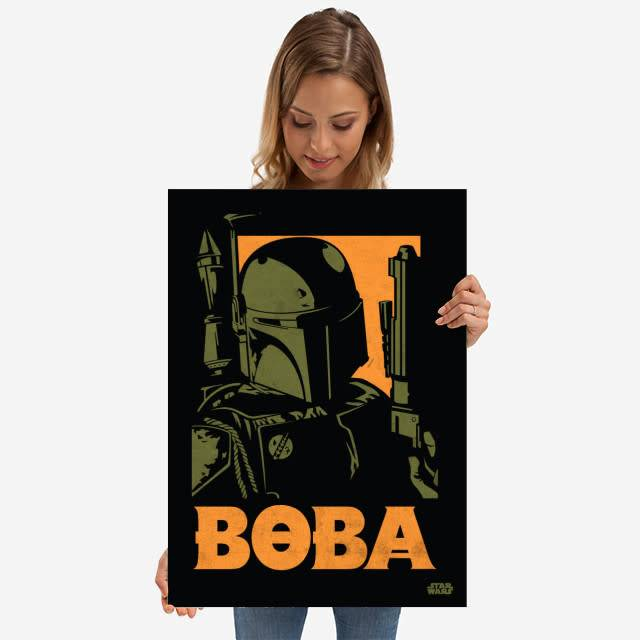 Star Wars Boba Fett - Star Wars Icons Posters - Displate