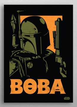 Star Wars Boba Fett | Star Wars Icons Posters | Displate