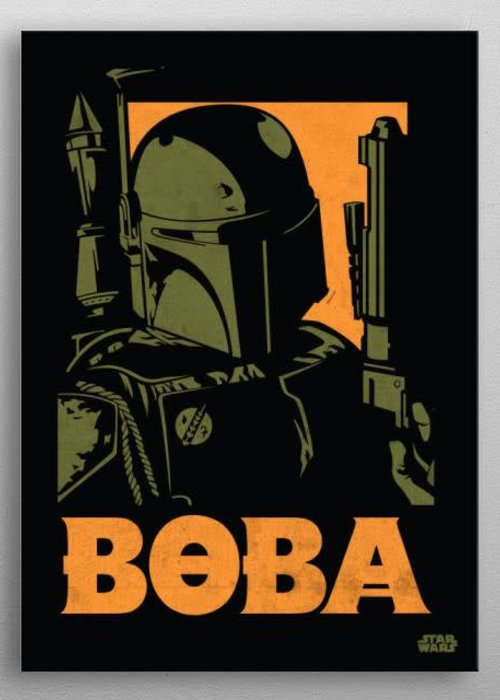 Star Wars Boba Fett  | Star Wars Icons Posters