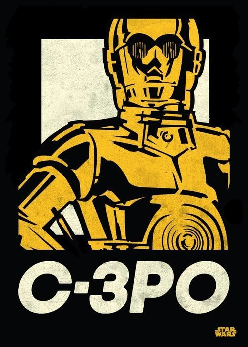 Star Wars C-3PO | Star Wars Icons Posters | Displate