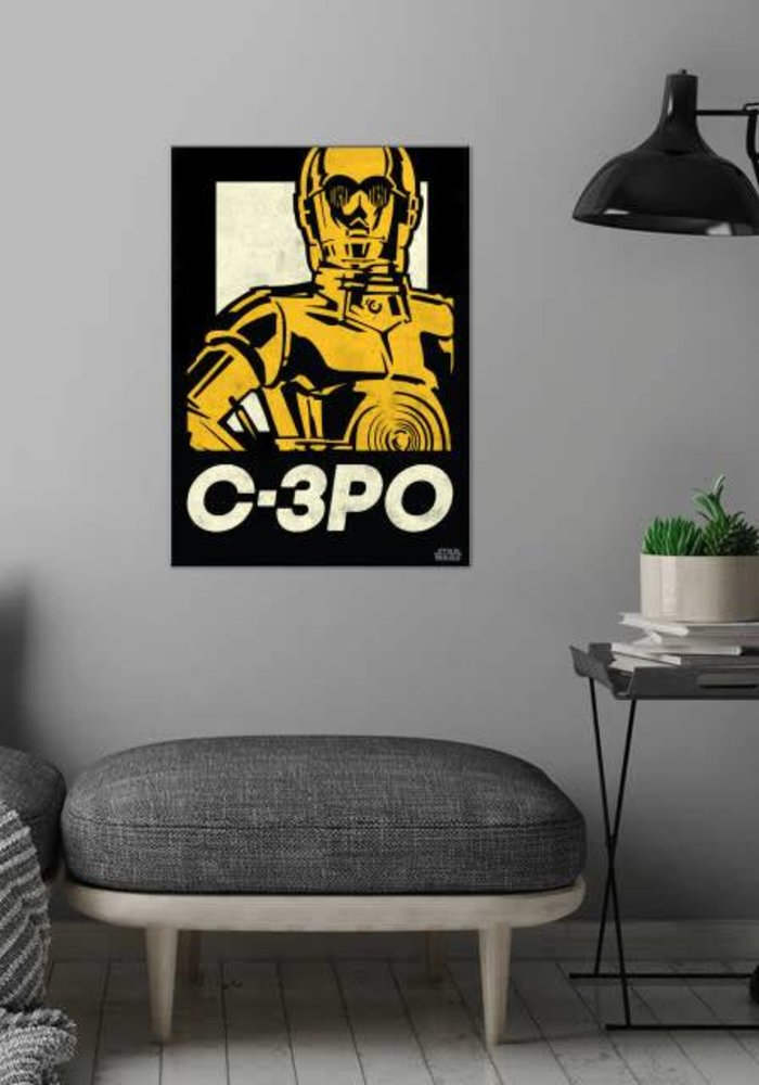 C-3PO   Star Wars Icons Posters