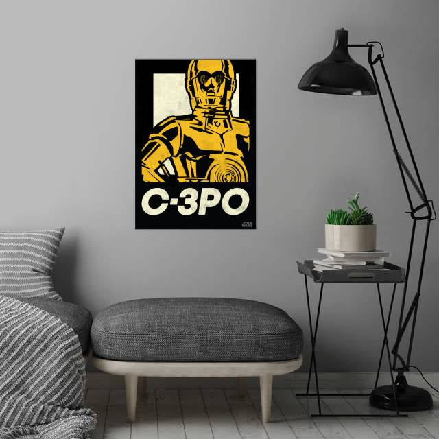 Star Wars C-3PO - Star Wars Icons Posters - Displate