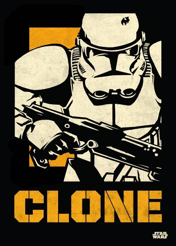 Star Wars Clone Trooper - Star Wars Icons Posters - Displate