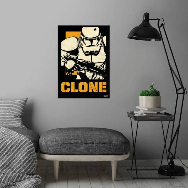 Star Wars Clone Trooper - Star Wars Icons Posters - Displate