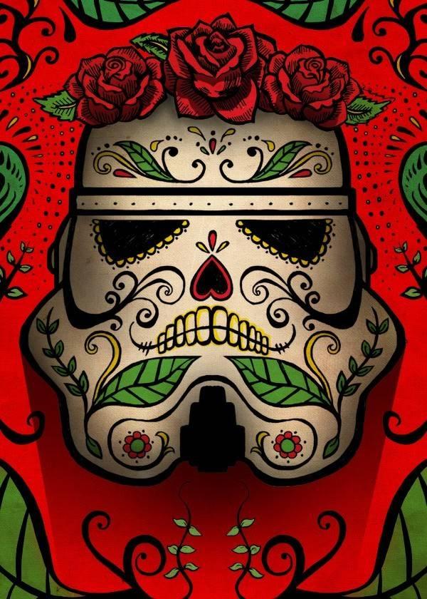Star Wars Muerte | Masked Troopers | Displate