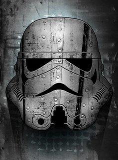 Star Wars Irontrooper - Star Wars Masked Troopers Displate