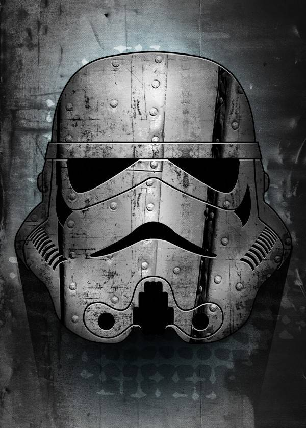 Star Wars Irontrooper - Star Wars Masked Troopers Displate