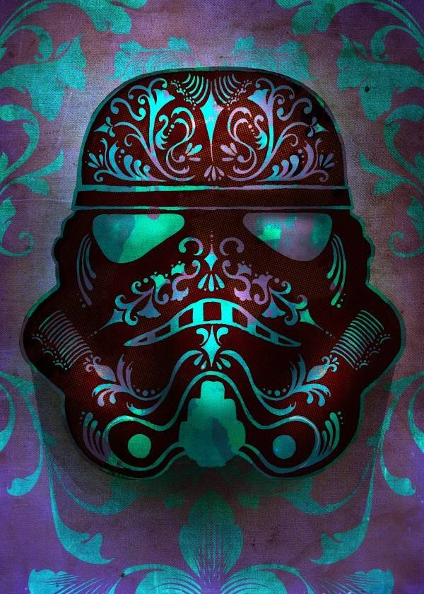 Star Wars Fluid - Star Wars Masked Troopers Displate