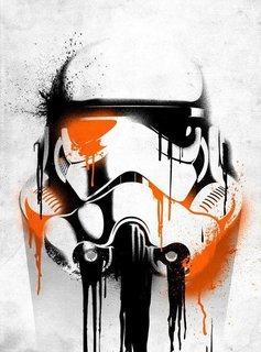 Star Wars Banksy - Star Wars Masked Troopers - Displate