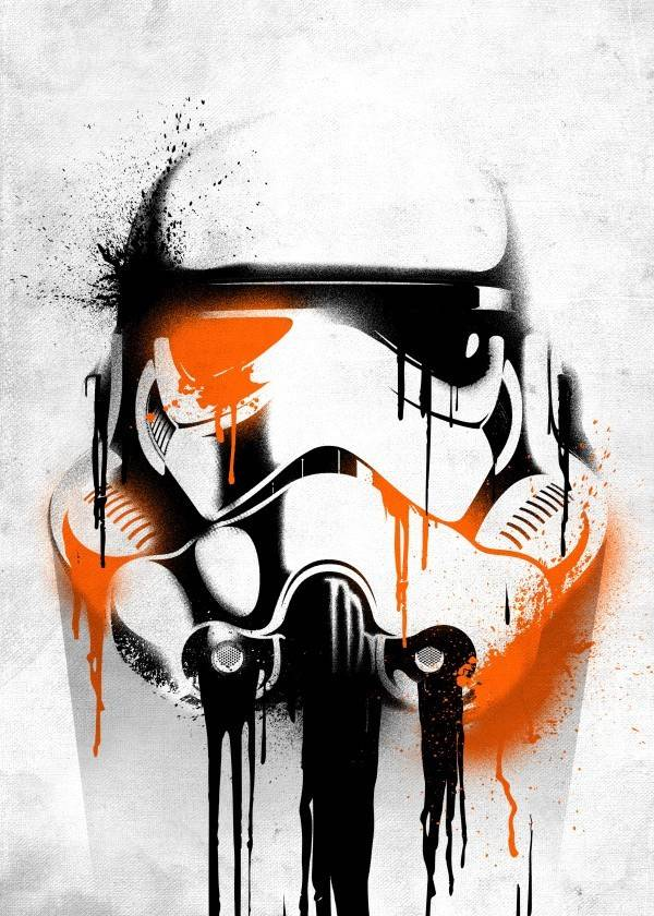 Star Wars Banksy - Star Wars Masked Troopers - Displate