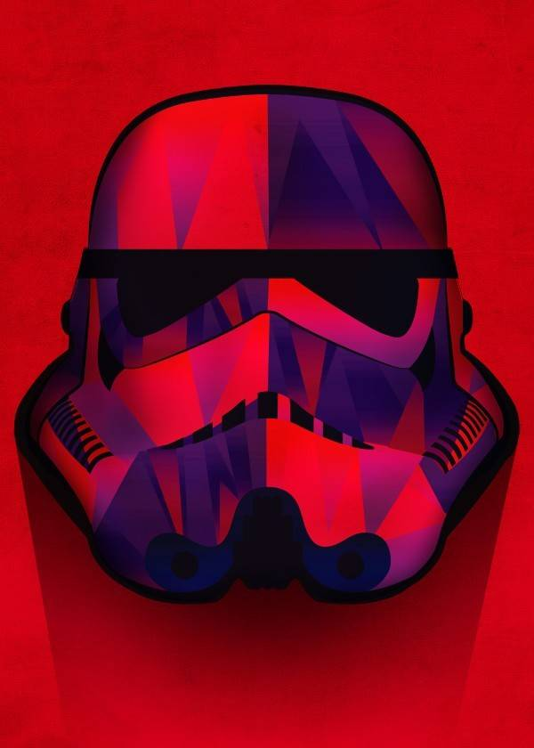 Star Wars Redrum - Masked Troopers - Displate