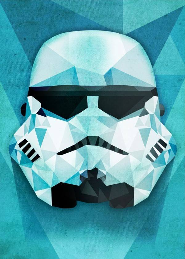 Star Wars Polygonal - Masked Troopers - Displate