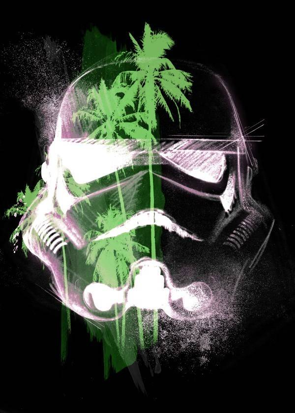 Star Wars Tropical - Masked Troopers - Displate