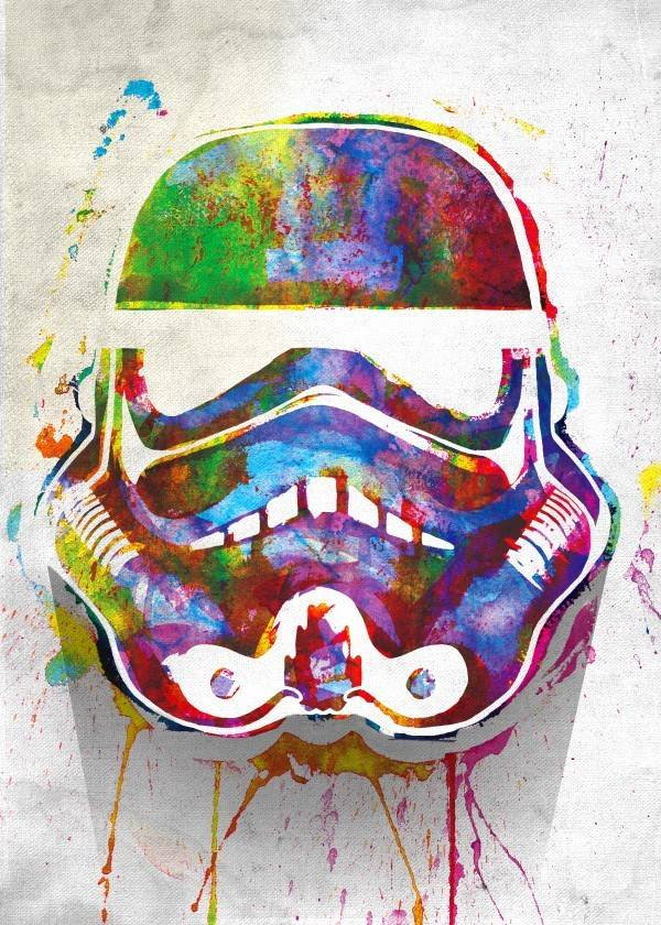 Star Wars Splashed - Masked Troopers - Displate
