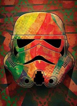 Star Wars Vibrant - Masked Troopers - Displate