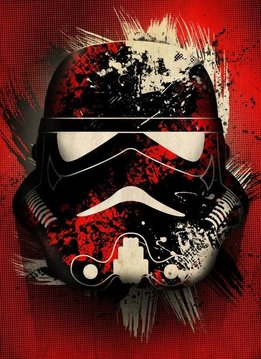 Star Wars Splatter - Star Wars Masked Troopers Displate