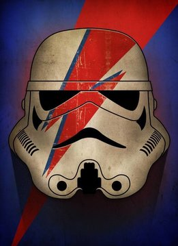 Star Wars Ziggy - Star Wars Masked Trooper Displate