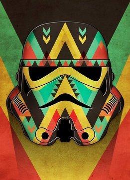 Star Wars Organic - Star Wars Masked Troopers Displate