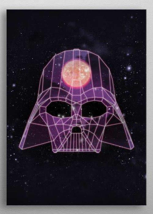 Star Wars Vader   Retro Wars   Displate